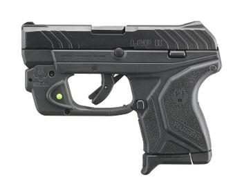 Ruger LCP II Viridian Green Laser