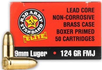 Red army standard elite 9mm 124gr