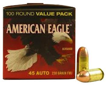 Federal American Eagle .45 Auto Range Value Pack