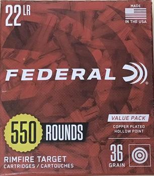 Federal .22 LR 550 Round Value