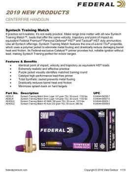 Federal Syntech TSJ 9mm