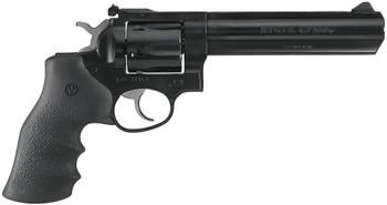 """Ruger GP100, .357 Magnum, 6 Round, 6"""" Barrel, Blued, Hogue Grip"""