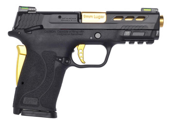 Smith Wesson Performance Center EZ 9mm Gold