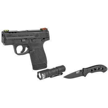 Smith Wesson M&P 9 Ported Performance Center Every Day Carry Kit Knife Flashlight