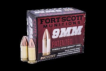 Fort Scott Munitions TUI 9mm 115gr 9mm-115-scv