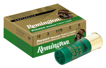Remington Premier High Velocity Magnum Copper Plated Buffered Turkey Loads