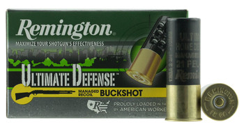 Remington Ultimate Defense Managed Recoil Buckshot