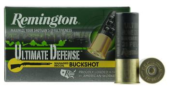 Remington Ultimate Defense Managed Recoil Buckshot