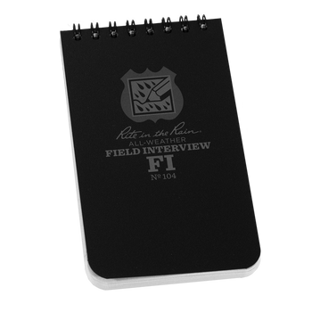 Rite in the Rain Field Interview Notebook