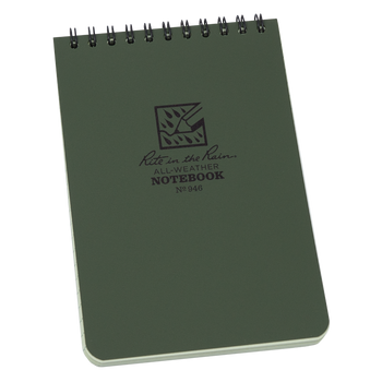 "Rite in the Rain 4"" x 6"" Pocket Top Spiral Notebook"