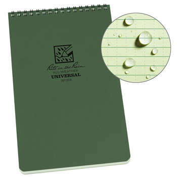 "Rite in the Rain 5 1/2"" x 8 1/2"" Top-Spiral Notebook"