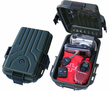 MTM Survivor Dry Box with O-Ring Seal, Various Sizes and Colors