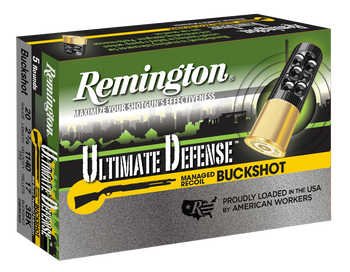 Remington Ultimate Defense Buckshot 20 Gauge