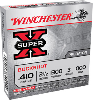 Winchester Super-X Buckshot 410 Gauge