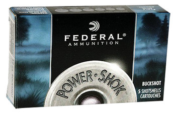 Federal Power-Shok Buckshot 16 Gauge