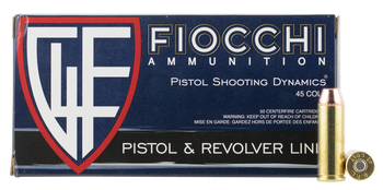Fiocchi Pistol Shooting Dynamics 45 Long Colt