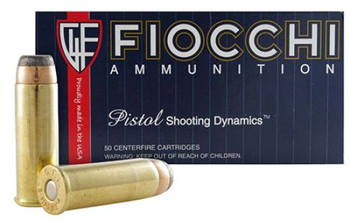 Fiocchi Shooting Dynamics 44 Remington Magnum JSP
