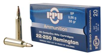 PPU Prvi Partizan .22-250 Remington