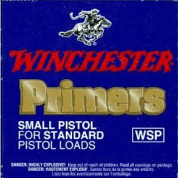 Winchester WSP Standard Small Pistol Primers