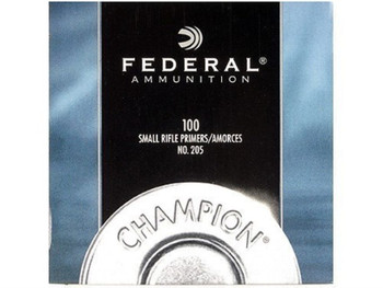 Federal No. 205 Small Rifle Primers
