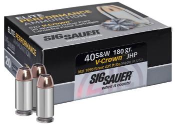 Sig V-Crown 40 S&W