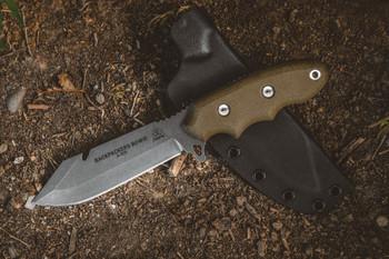 TOPS Backpacker's Bowie Knife