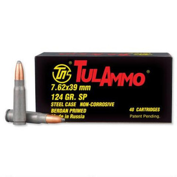 Tulammo, 7.62x39mm, 124 Grain