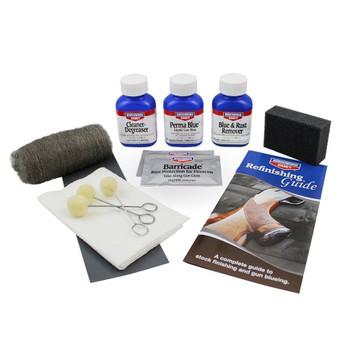 Birchwood Casey Perma Blue Kit Contents