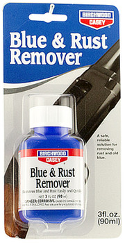 Birchwood Casey Liquid Blue & Rust Remover, 3 oz