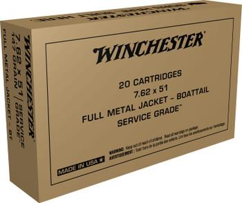 Winchester Service Grade, .308 Win, 7.62x51mm
