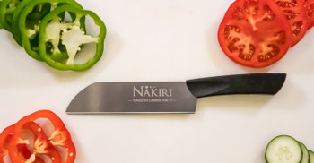 The Sandrin Nakiri Tungsten Carbide Knife