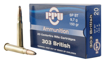 PPU Standard Rifle 303 British