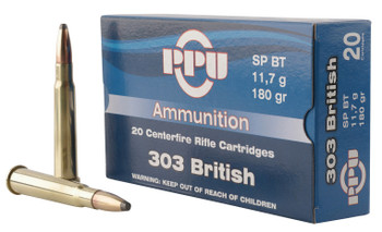 PPU Standard Rifle 303 British 180 Grain