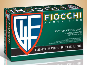 Fiocchi Extrema Rifle Line 25-06 Remington SST