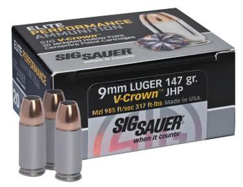 Sig V-Crown 9mm