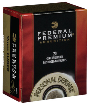 Federal Premium Hydra-Shok 9mm