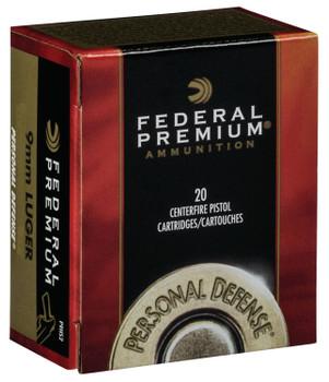 Federal Premium Hydra-Shok 9mm