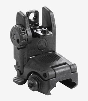 Magpul MBUS Rear Back-Up Sight Black