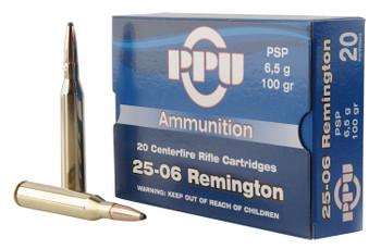 PPU Standard Rifle 25-06 Remington PSP