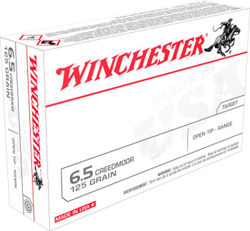 Winchester 6.5 Creedmoor Open Tip Range White Box