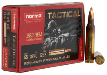 Norma Tactical .223 Remington FMJ