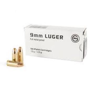 GECO Pistol Cartridges 9mm Luger
