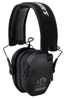 Walker's Razor Slim Muffs Black