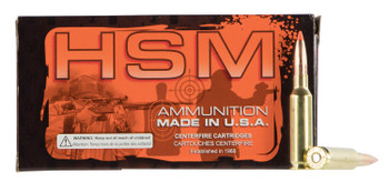 HSM Custom Plus Ammunition .223 Remington