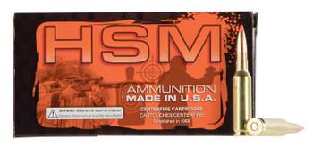 HSM Custom Plus Ammunition .223 Remington