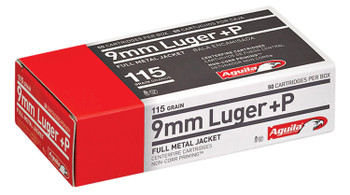 Aguila 9mm Luger +P Ammo
