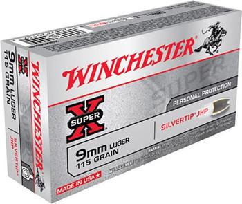 Winchester Silvertip 9mm 115gr