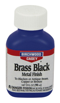 Birchwood Casey Brass Black Metal Finish