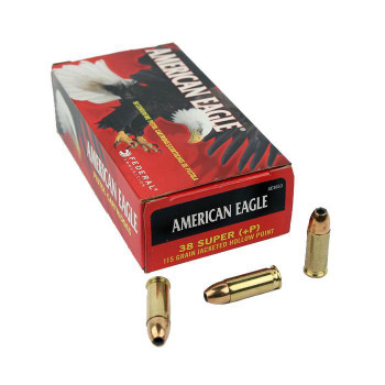American Eagle 38 Super +P