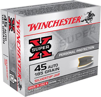 Winchester 45 ACP Silvertip